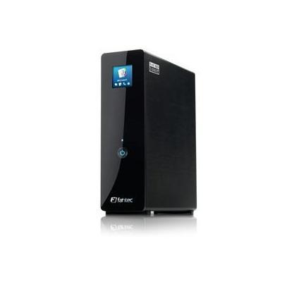 Fantec mediaspeler: MM-FHDL 1000GB - Zwart