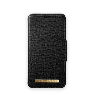 IDeal of Sweden SAFFIANO BLACK, Cases for Galaxy S10 Mobile phone case - Zwart