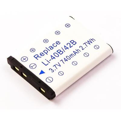 CoreParts 3.7V 740mAh Li-Ion - Zwart