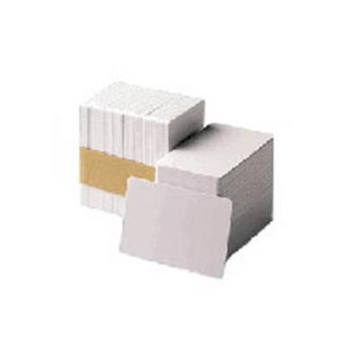 Zebra Premier PVC Card, 30 mil Low Coercivity Mag. Stripe (5 packs x 100) Lege plastic kaart
