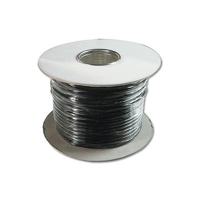 Digitus Modular Flat Cable, 6 Wire Length 100 M, AWG 26, CCA, bl Telefoon kabel - Zwart