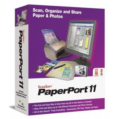 Nuance document management software: PaperPort PaperPort Prof 11