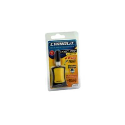 Aerocare lijm: Cyano Glue, 3gr - Zwart, Geel