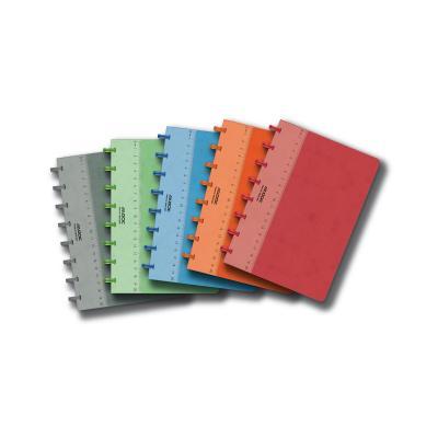Adoc schrijfblok: PAP-EX BOOK STANDARD A4 - Multi kleuren