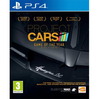Namco bandai games game: Project Cars (GOTY Edition)  PS4