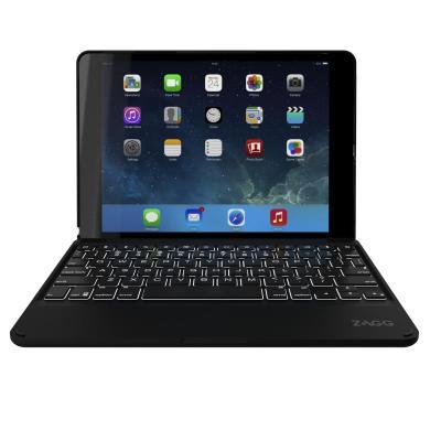Zagg mobile device keyboard: Folio - Zwart, AZERTY