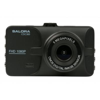 """Salora drive recorder: Een Full HD dashboard camera met groot 3,0"""" display in metalen behuizing"""