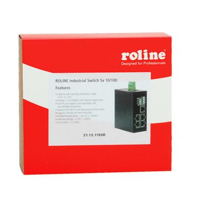 ROLINE Industrial, 5x RJ-45, unmanaged Switch