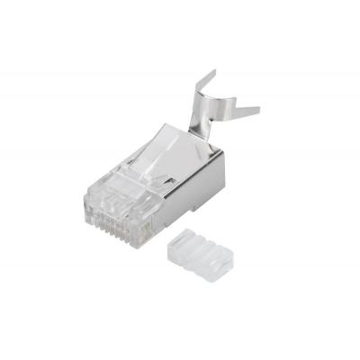 ASSMANN Electronic Cat6a, 10GBase-T, Polycarbonaat Kabel connector - Transparant