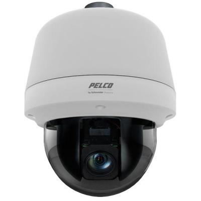 Pelco 1920 x 1080p, 16:9, 2.0 MPx, Motion Detection, 32GB SD Card, dome Beveiligingscamera - Wit