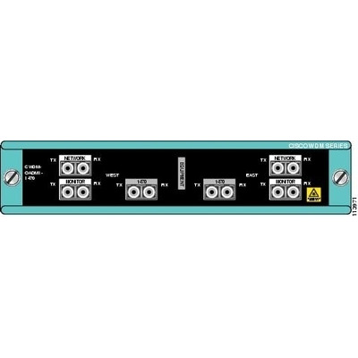 Cisco wave division multiplexer: Single-Wavelength 1470nm Dual-Channel OADM