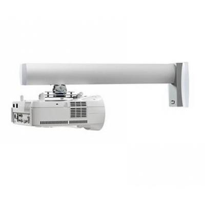 Sms smart media solutions projector plafond&muur steun: Proj WL Short Throw V A/W without tube! - Aluminium, Wit