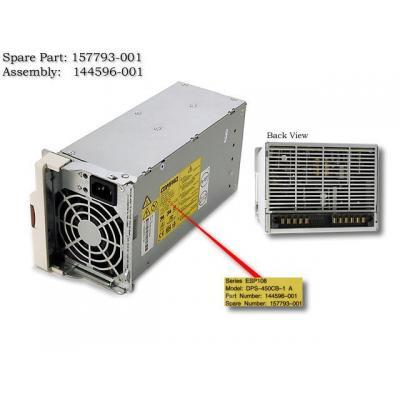 Hewlett Packard Enterprise Hotplug Power Supply,450W Power supply unit