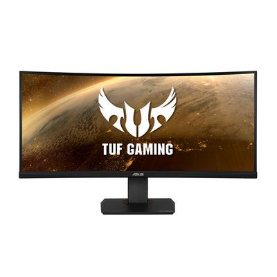"""ASUS TUF Gaming VG35VQ 35"""" Curved UWDQHD VA Monitor - Zwart"""