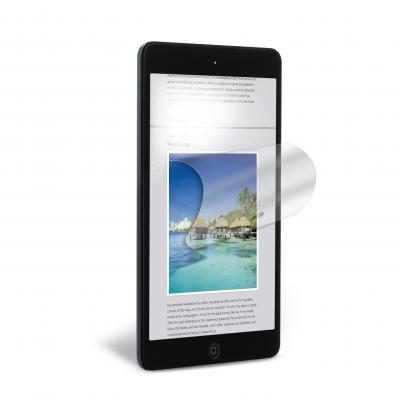 3m screen protector: Screenprotector anti-schittering voor Apple® iPad mini™ 1/2 - Transparant