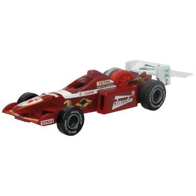 Darda toy vehicle: Formula 1 - Zwart, Rood, Wit
