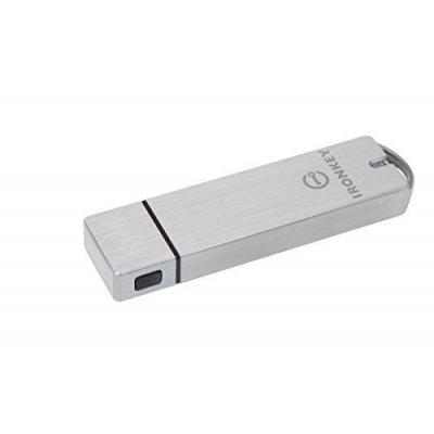 Ironkey USB flash drive: Basic S1000 16GB - Aluminium