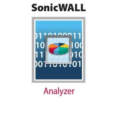 Dell systeembeheer tools: SonicWALL SonicWALL Analyzer for SRA 4200, SSL-VPN 2000, SSL-VPN 4000 - Licence - 1 licence - .....