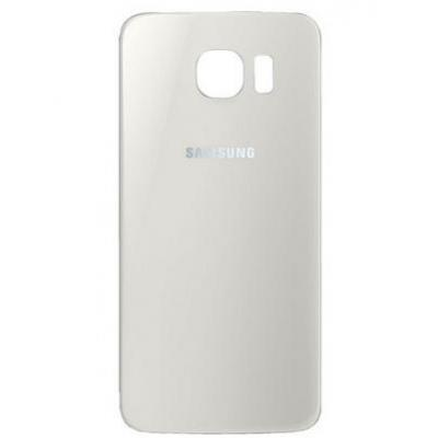 Samsung mobile phone spare part: Battery Cover, White - Wit