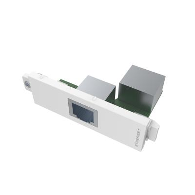 Vision wandcontactdoos: RJ-45 module, Cat5e - Wit
