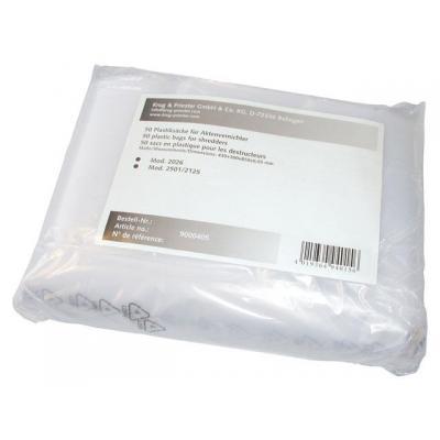 Ideal Opvangzak plastic 4002/3/4/5/6/pk50 Papierversnipperaar