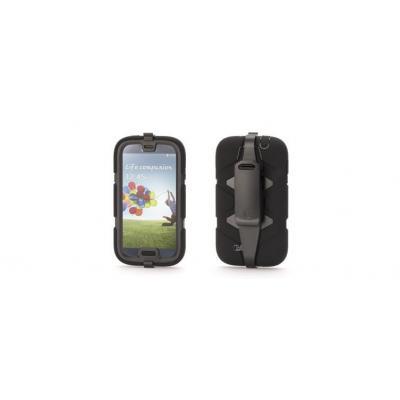Griffin mobile phone case: GB37803, Survivor with Belt Clip for Samsung Galaxy S4 - Zwart
