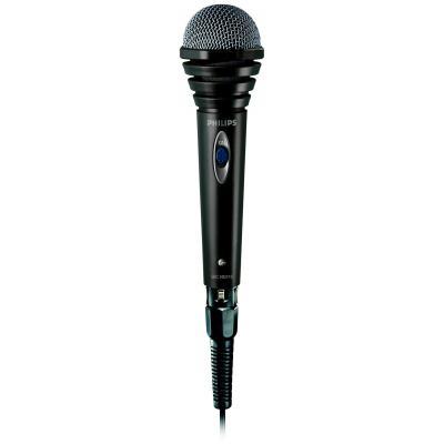 Philips microfoon: Microfoon met snoer SBCMD110/00 - Zwart