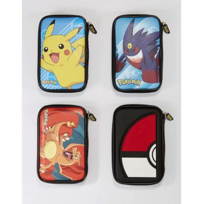 Bigben interactive portable game console case: Nintendo 3DS XL hoesje met Pokémon in diverse kleuren - Multi kleuren