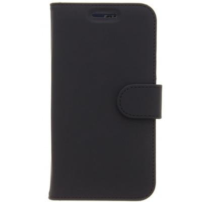 Wallet Softcase Booktype Motorola Moto C Plus - Zwart - Zwart / Black Mobile phone case