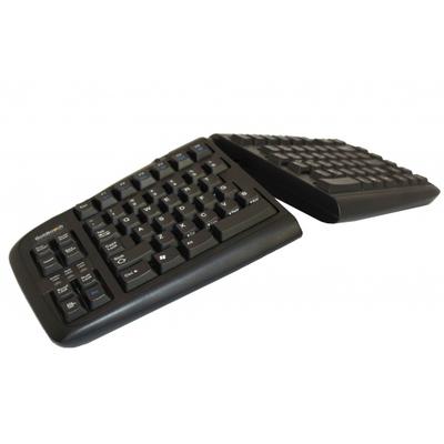 BakkerElkhuizen Goldtouch Adjustable V2 Toetsenbord - Zwart