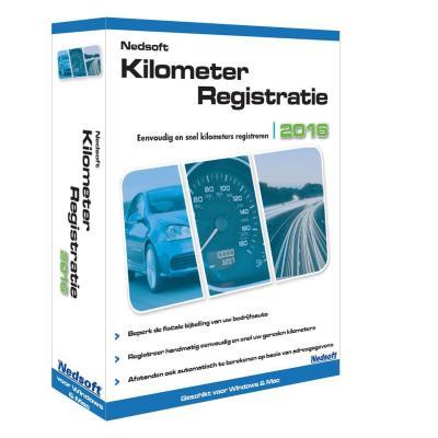Nedsoft boekhoudpakket: KilometerRegistratie 2016