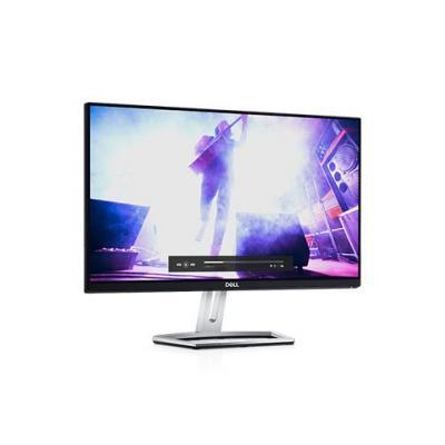 Dell monitor: S Series S2318H - Zwart, Zilver