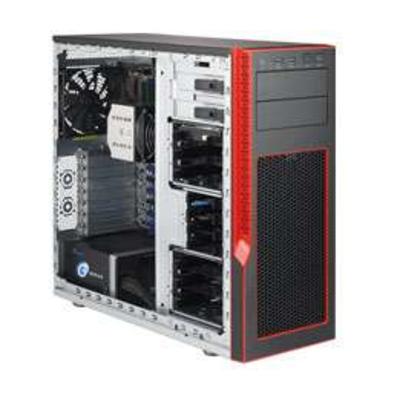 Supermicro Mid-Tower, Super C7X99-OCE, 8x 288-pin DDR4 DIMM, 10x SATA3, 2x RJ-45, 8x USB3.0, 750W Server .....