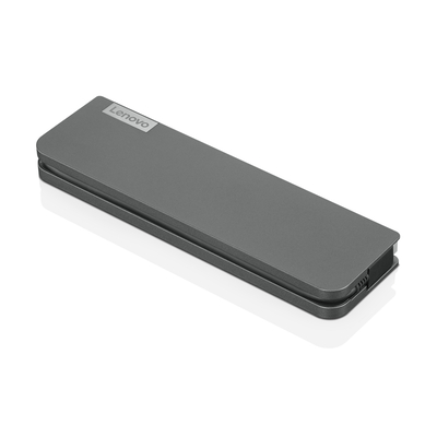 Lenovo USB-C Mini Dock Docking station - Grijs