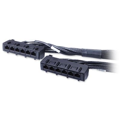 APC 50ft Cat6 UTP, 6x RJ-45 - 6x RJ-45 Netwerkkabel
