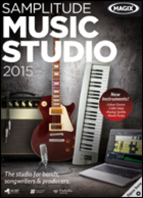 Magix audio software: Samplitude Music Studio 2015 (download versie)