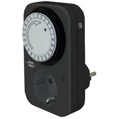 Brennenstuhl surge protector: 24 h Timer MZ 20 - Zwart