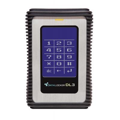 Origin storage : 256GB Datalocker 3 - Zwart, Zilver