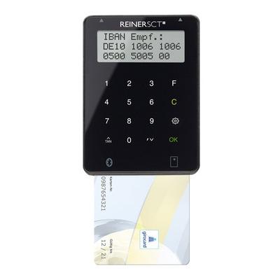 Reiner sct smart kaart lezer: tanJack Bluetooth - Zwart