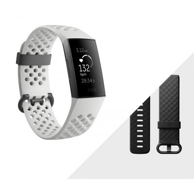 Fitbit Charge 3 Special Edition Wearable - Grafiet, Wit