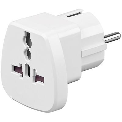 Goobay Travel adapter Electriciteitssnoer - Wit