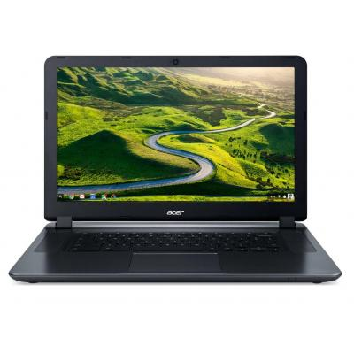 "Acer laptop: Chromebook 15 CB3-532-C968 - 15.6"" Celeron 2GB RAM 16GB Flash - Chrome OS - Zwart, Grijs"