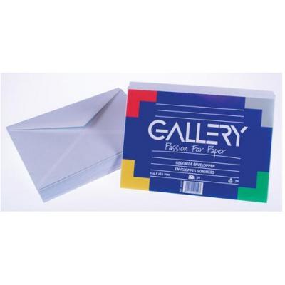 Gallery envelop: Ft 114 x 162 mm, 50 stuks - Wit