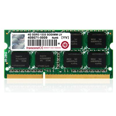 Transcend 4GB DDR3 1333 RAM-geheugen