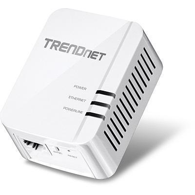 Trendnet powerline adapter: Powerline 1200 AV2 Adapter - Wit