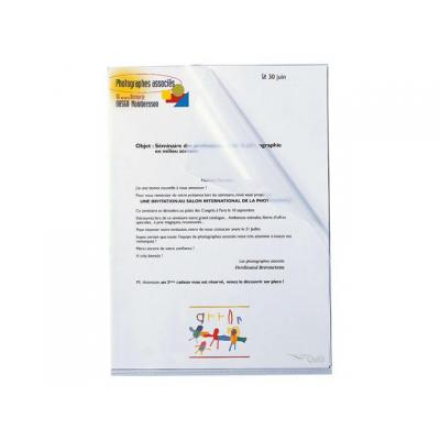 Staples inbinder: Insteekmap SPLS A4 l-mod pp 0.14mm/pk25