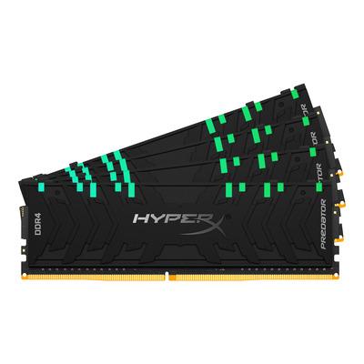 HyperX 32GB (4 x 8GB), DDR4, 2933 MHz, CL15, 288-pin, DIMM RAM-geheugen