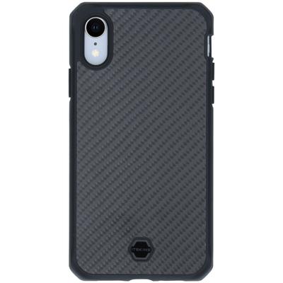 ITSKINS Hybrid Fusion Backcover iPhone Xr - Zwart - Zwart / Black Mobile phone case