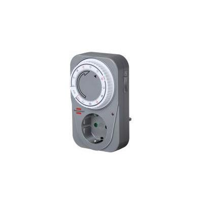 Brennenstuhl elektrische timer: MC 120 - Grijs