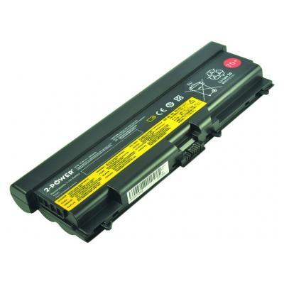 2-power notebook reserve-onderdeel: 10.8V 7800mAh Li-Ion Laptop Battery - Zwart